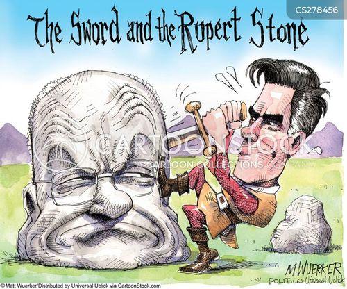 media baron cartoon