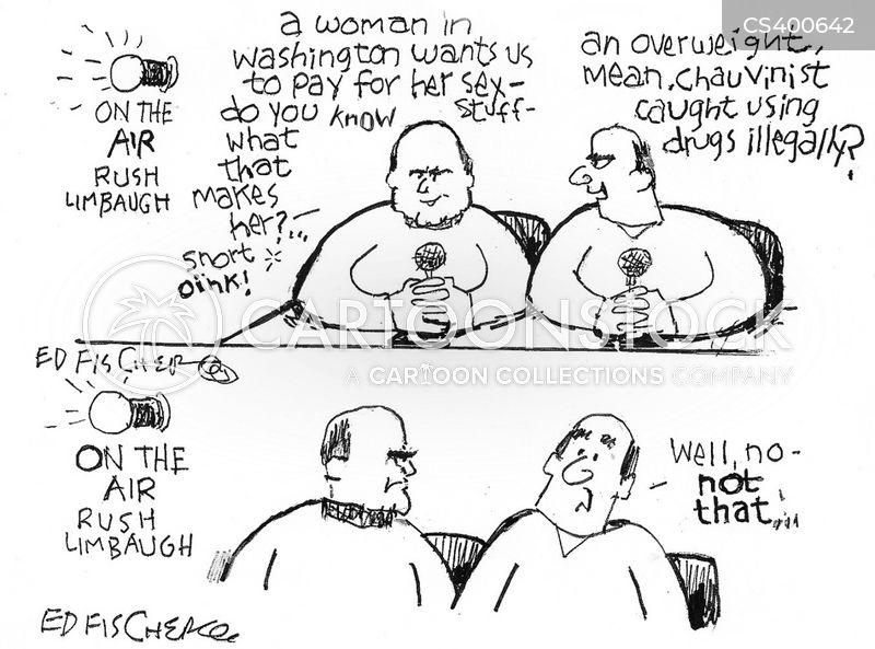 rush limbaugh cartoon