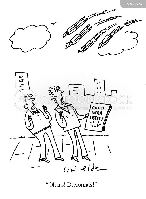 stand offs cartoon