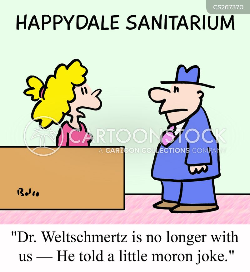 sanatorium cartoon