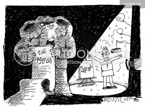 spotlights cartoon