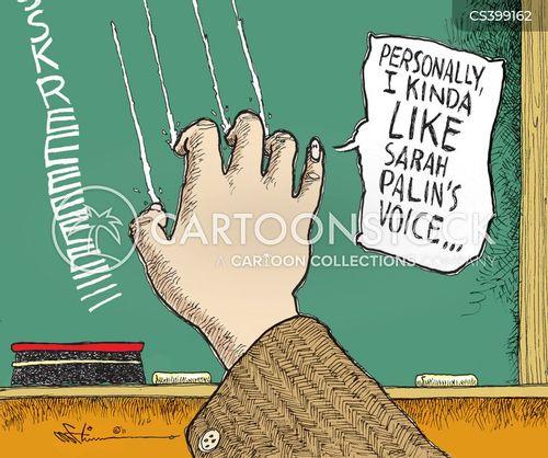 chalkboard cartoon