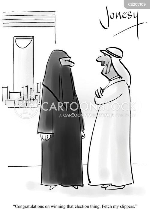 political rights cartoon