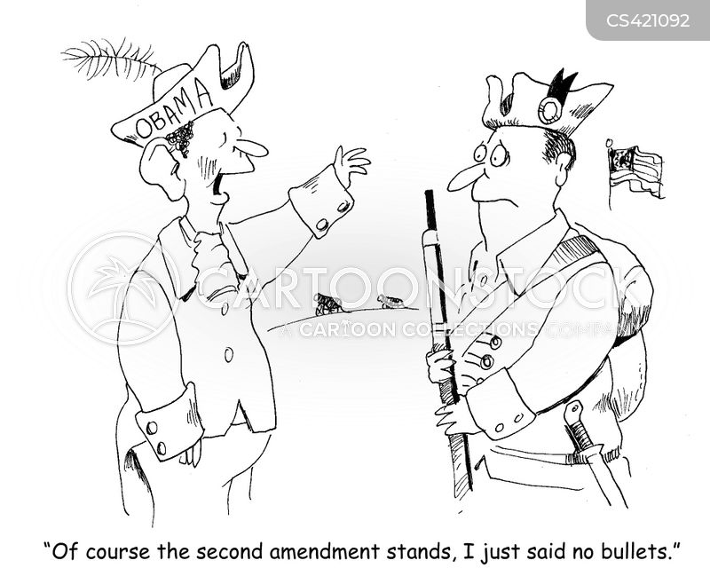 concealed weapons cartoon