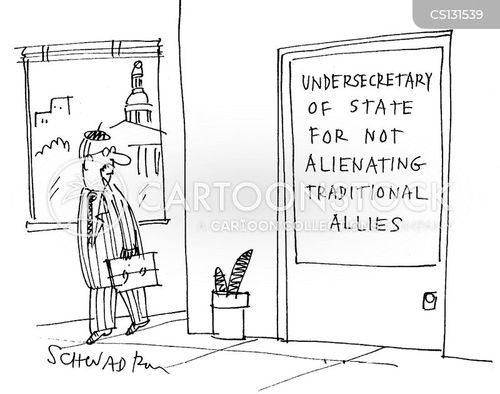 undersecretaries of state cartoon