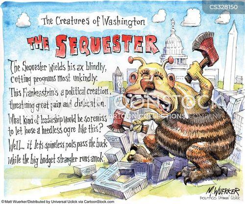 federal programs cartoon