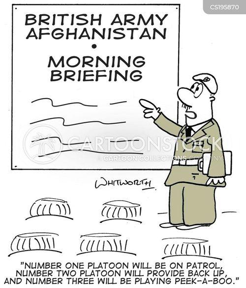 servicewomen cartoon