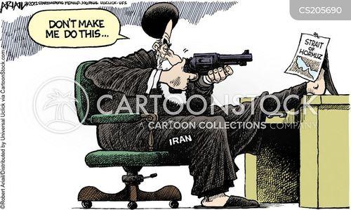 international diplomacy cartoon