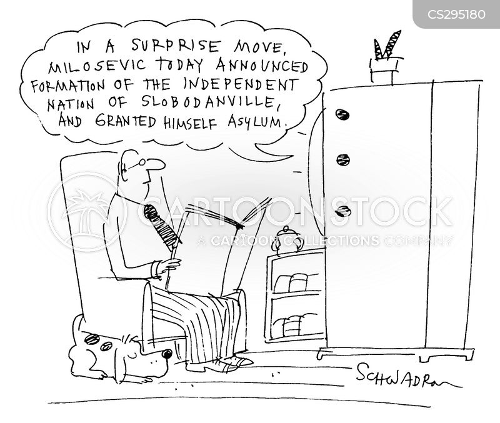 slobodan milosevic cartoon