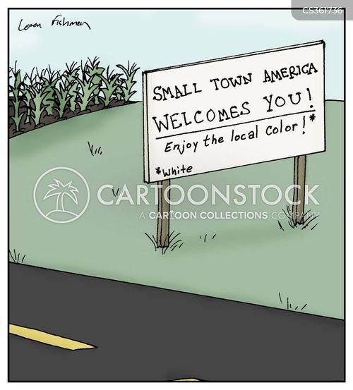 racial cartoon