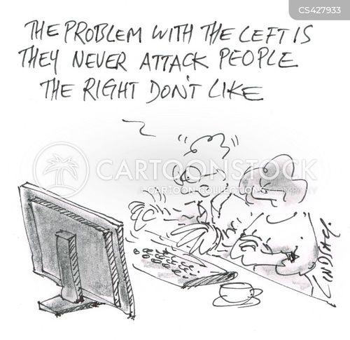 personal politics cartoon