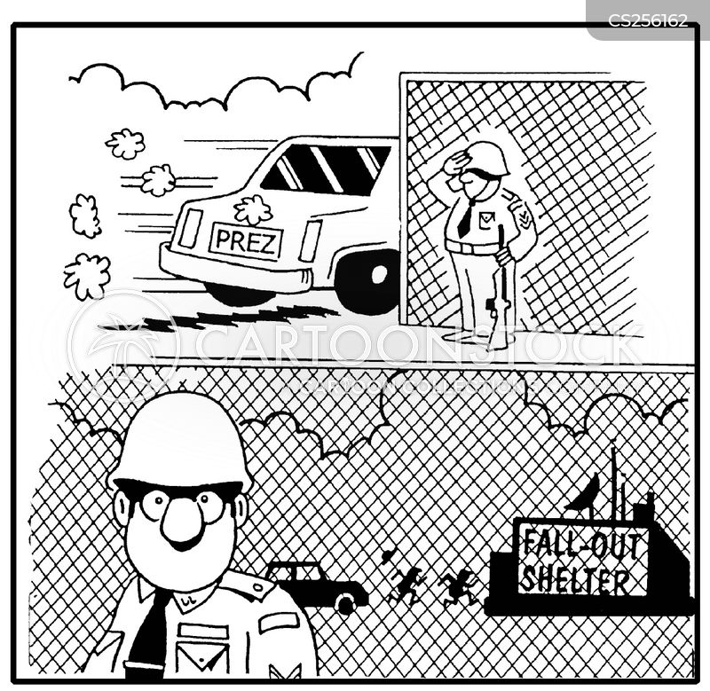 fall out shelters cartoon
