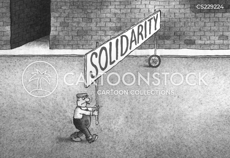 solidarity cartoon