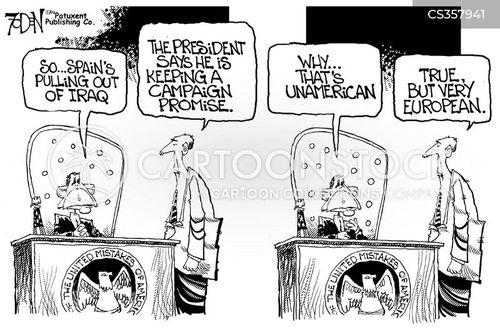 unamerican cartoon