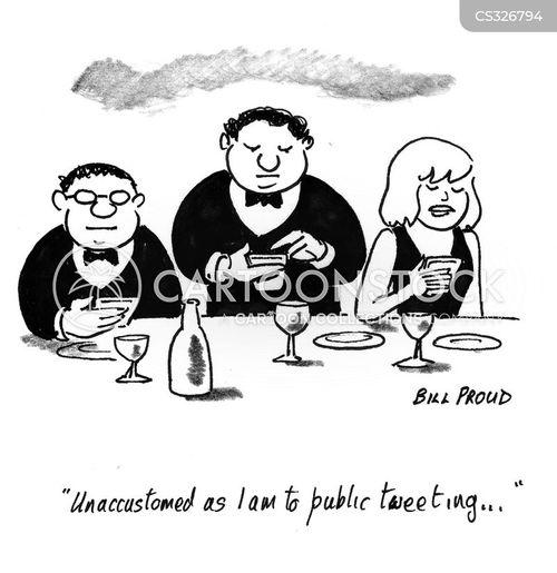 banquet cartoon