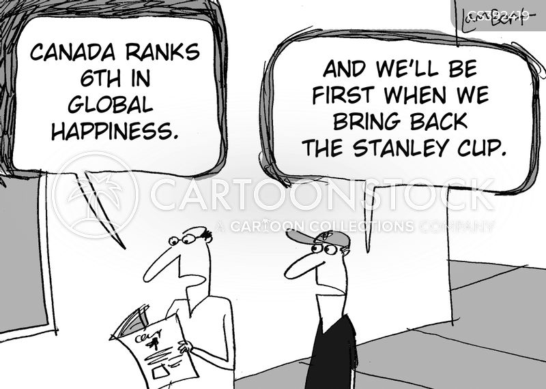 national hockey league cartoon
