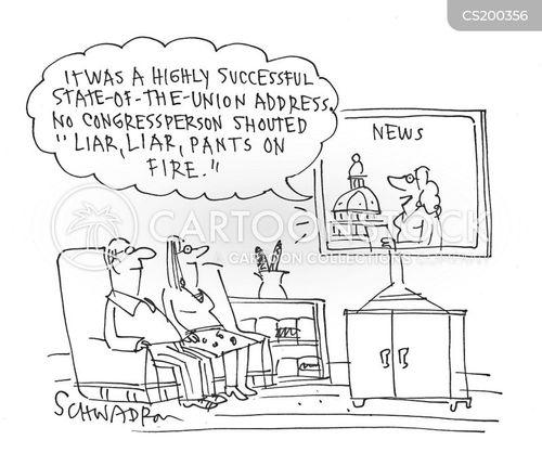 partisan cartoon