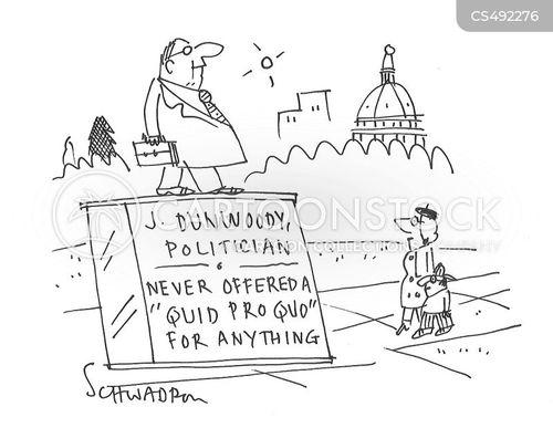 impeachments cartoon