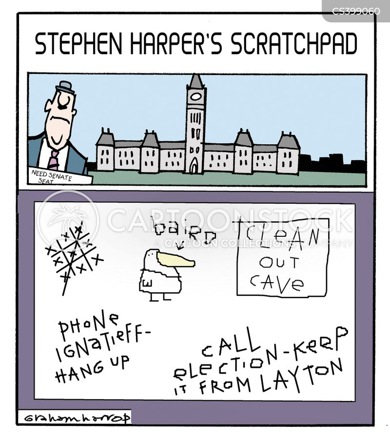 harper administration cartoon