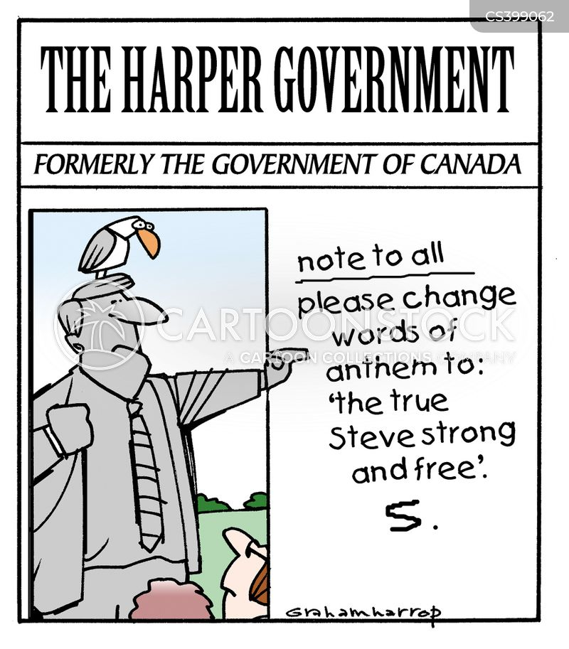 canadian election cartoon
