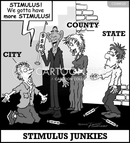 stimulus package cartoon