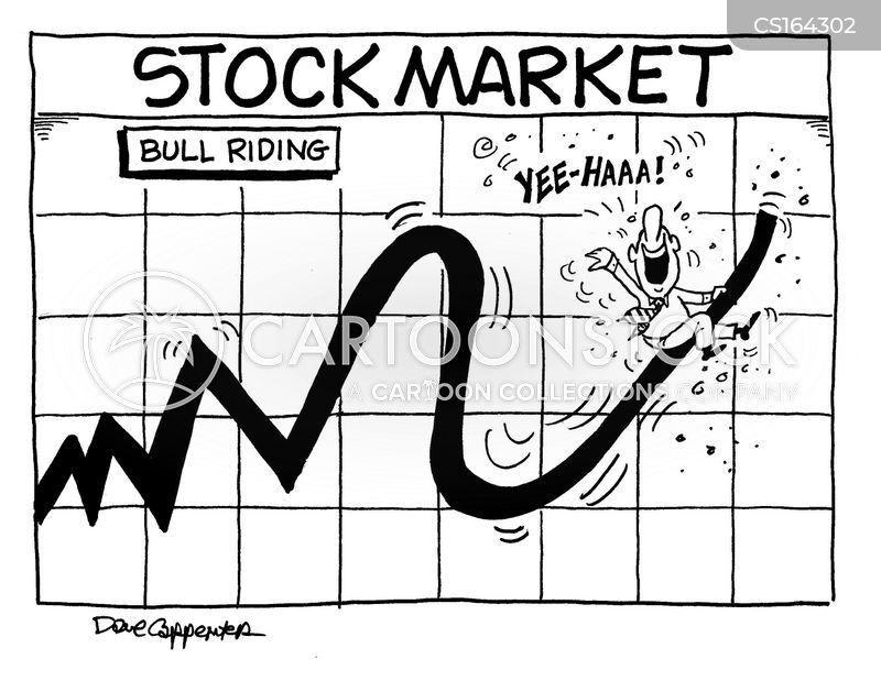 wall street cartoon