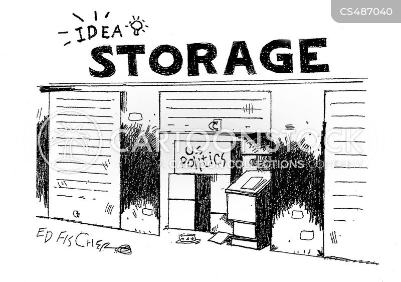 storages cartoon