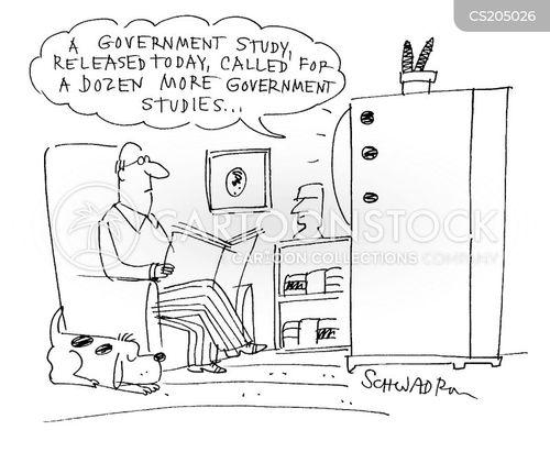 political analysis cartoon