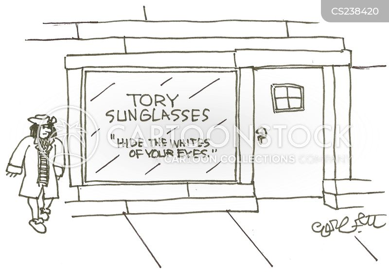 the conservative party cartoon