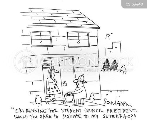 class president cartoon