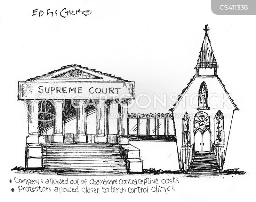 contraception mandate cartoon
