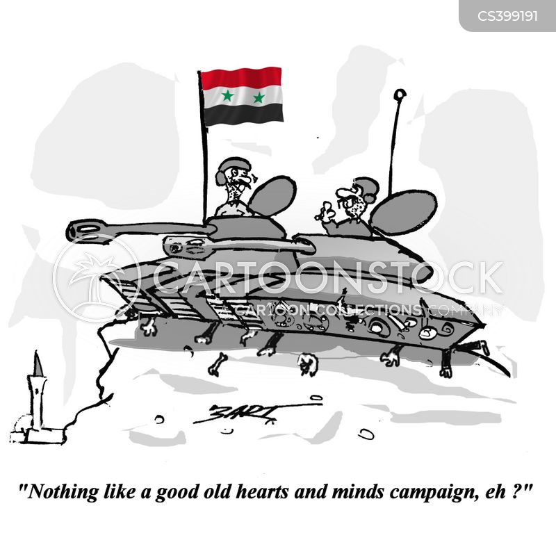 syrian tanks cartoon