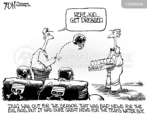 axis of evil cartoon
