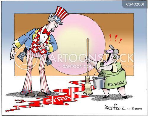 syrian opposition cartoon