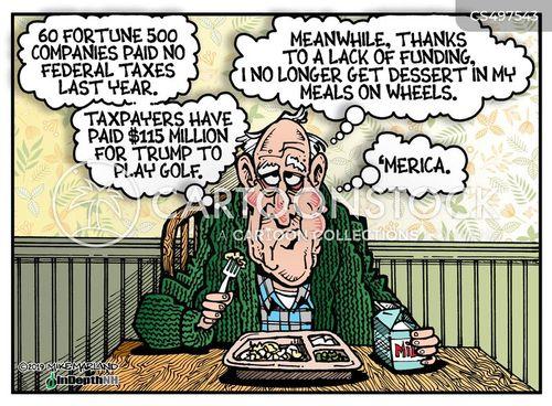 federal tax cartoon