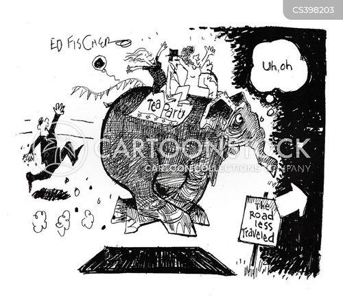 over the edge cartoon