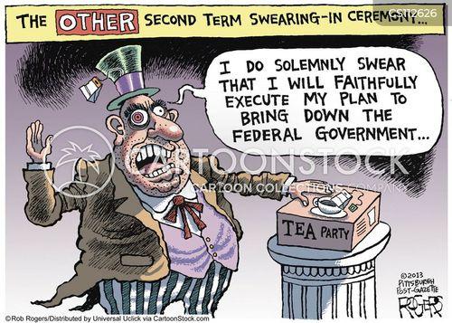 right wing politician cartoon