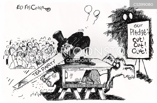 tea party movement cartoon