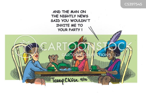 social discrimination cartoon