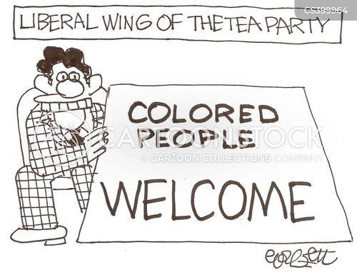 right wing politics cartoon