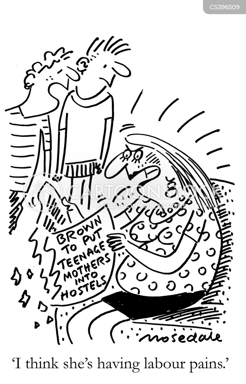 social benefits cartoon