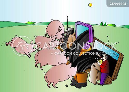 troughs cartoon