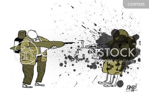 terror attack cartoon