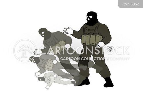 war on terrorism cartoon