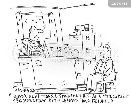 terrorist organisation cartoon