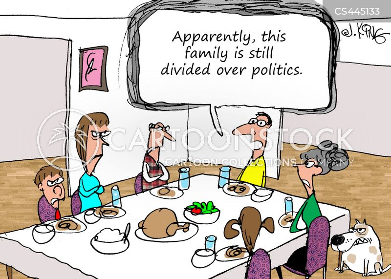 family divisions cartoon