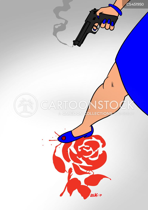 bleeding cartoon