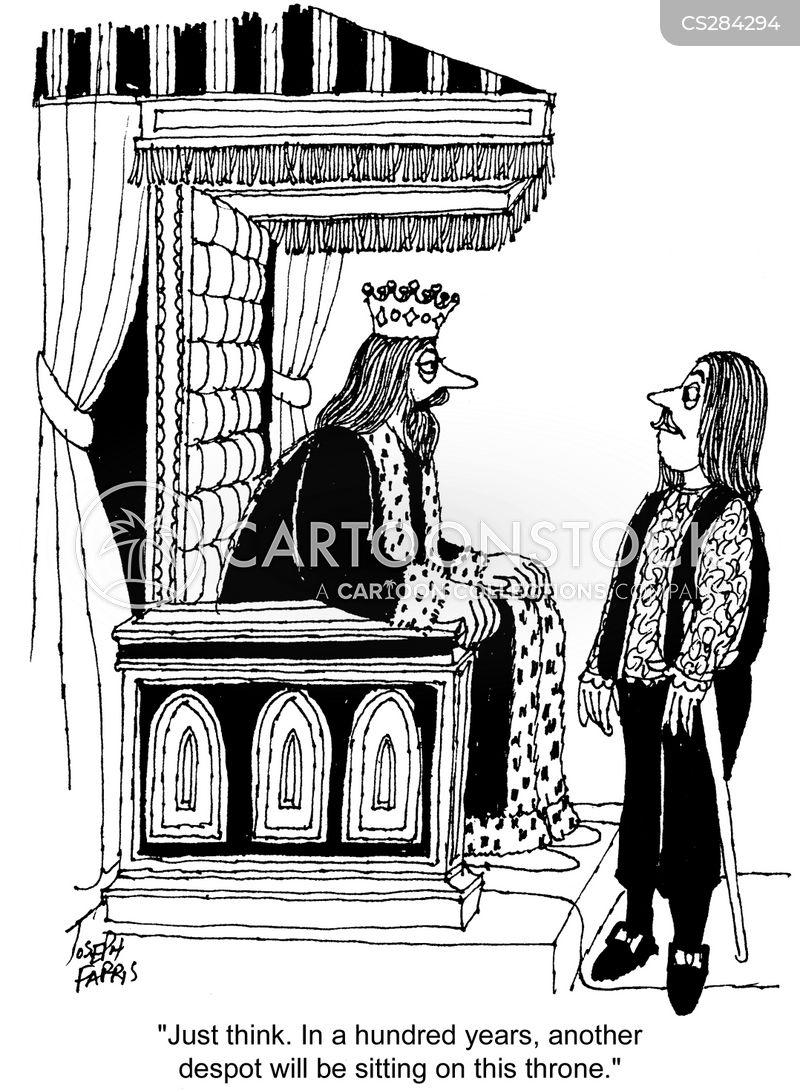 monarchist cartoon