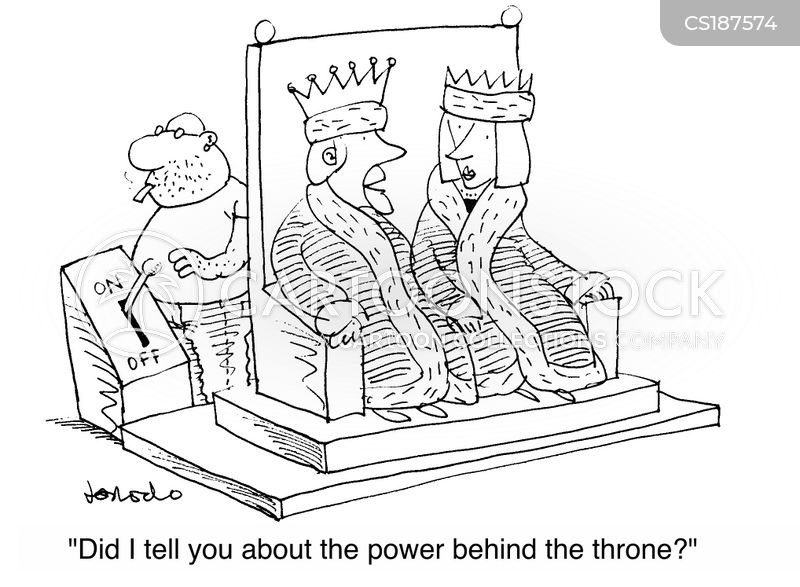 power switches cartoon