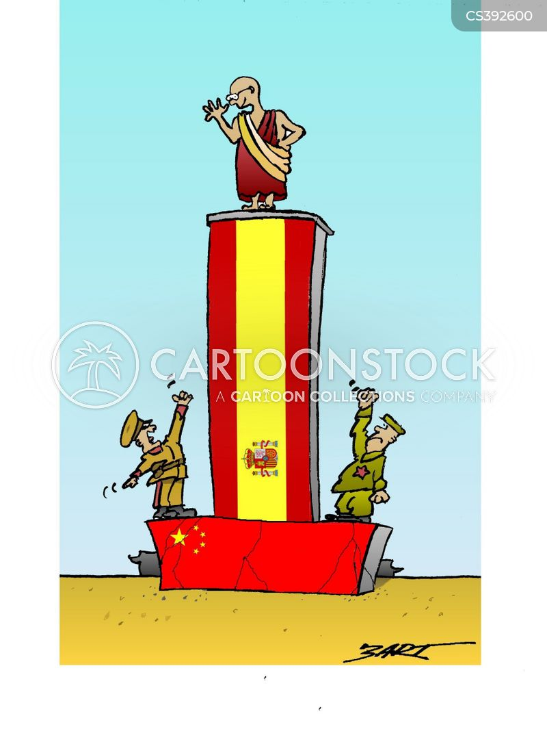 chinese-tibetan relations cartoon